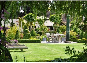 Romantische tuinen belgi for Voorbeeld tuinen kijken