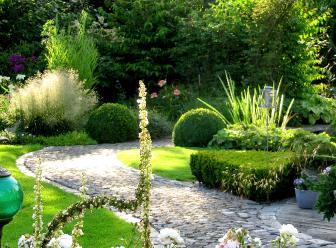 Romantische tuinen belgi for Mooie tuinen afbeeldingen